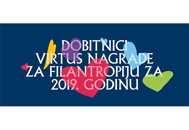 Dobitnici VIRTUS nagrade za filantropiju za 2019. godinu