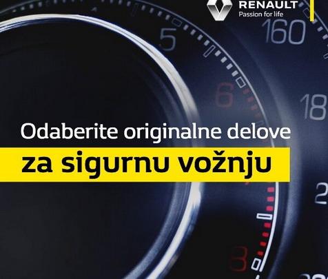Renault i Dacia: Originalni rezervni delovi za sigurnu vožnju