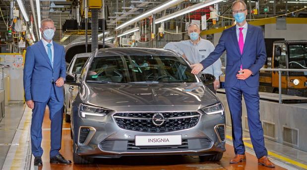 Početak proizvodnje: Nova Opel Insignia izlazi sa proizvodne linije u Russelsheimu