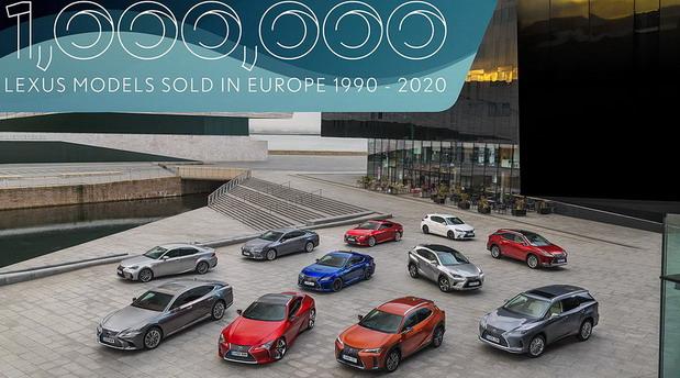 Lexus prodao milion automobila u Evropi