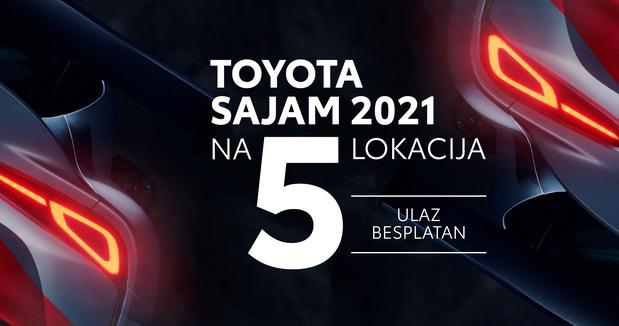 Toyota sajamska ponuda