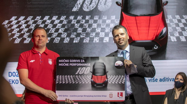 Kompanija EKO Serbia najavila početak prodaje premium goriva EKO Racing 100 RON i veliku nagradnu igru